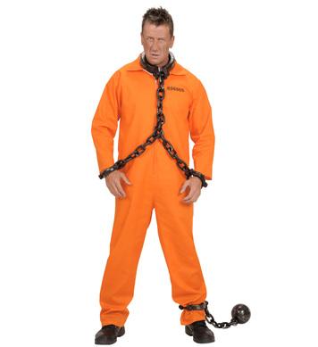 COUNTY JAIL INMATE (boiler suit)
