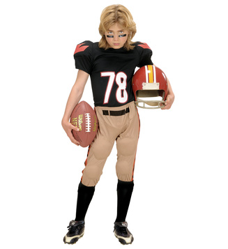 AMERICAN FOOTBALL PLAYER (stuffed top stuffed pants) Childrens