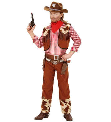 COWBOY (shirt vest pants belt bandana) Childrens