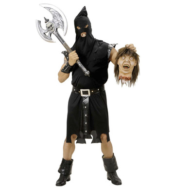 EXECUTIONER COSTUME (tunic belt cuffs hood)