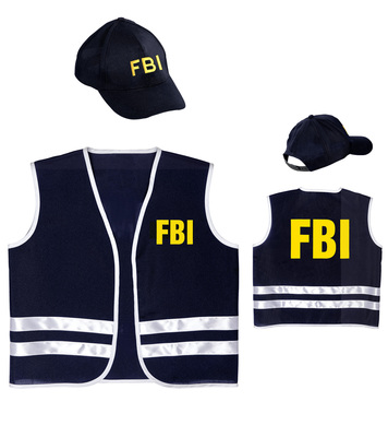 FBI OFFICER (vest cap) Childrens