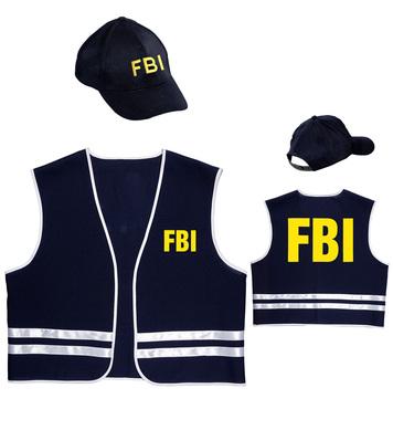 FBI OFFICER (vest cap)