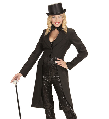 BLACK TAILCOAT LONG