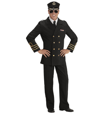 NAVY OFFICER (jacket shirt collar pants hat)