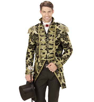 GOLD JACQUARD PARADE TAILCOAT