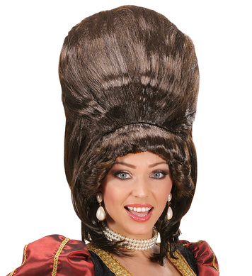 BARONESS SUPERTALL WIG - BROWN