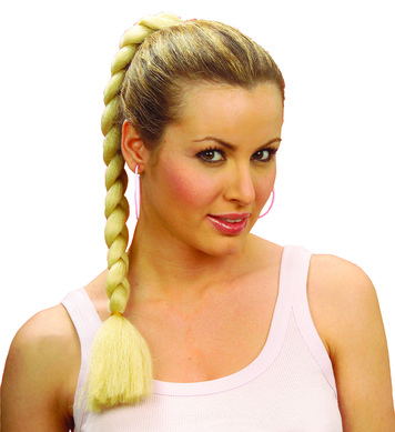 ROBERTA PLAIT HAIR EXTENSION - BLONDE