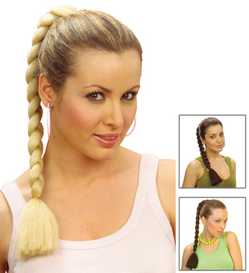 ROBERTA PLAIT HAIR EXTENSION - 3 colours