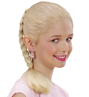 HAIR EXTENSION PLAIT - CHILD SIZE - BLONDE