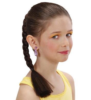HAIR EXTENSION PLAIT - CHILD SIZE - BROWN