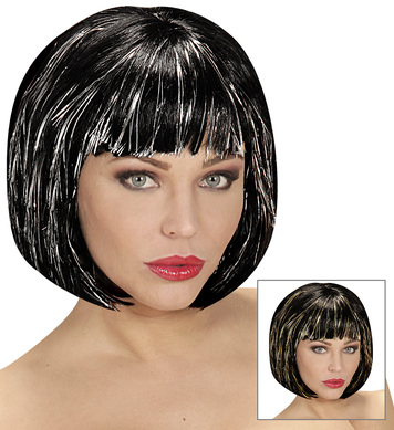 COOL WIG BLACK IN POLYBAG