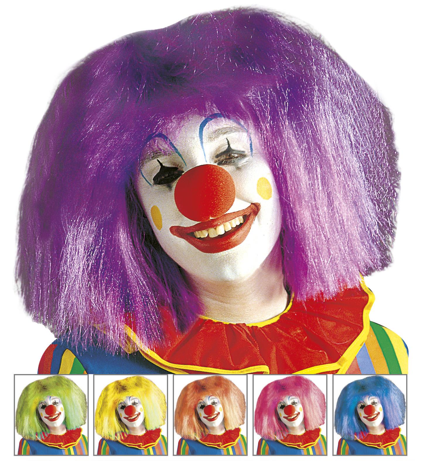 Unisex Clown Wig Circus Fancy Dress