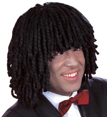 JAMAICA UNISEX WIG BLACK