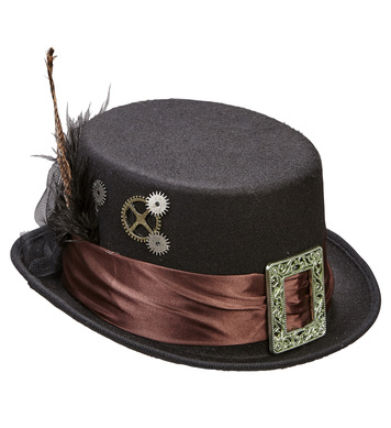 FELT STEAMPUNK TOP HAT