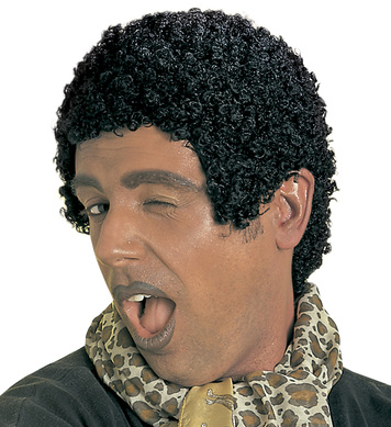 AFRO WIG BLACK - TIGHT CURLS