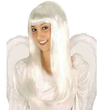 ANGEL WIG WHITE
