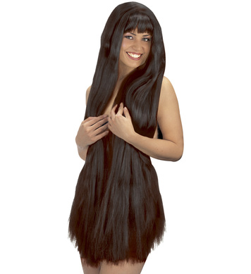 EXTRA LONG WIG 100cm BLACK