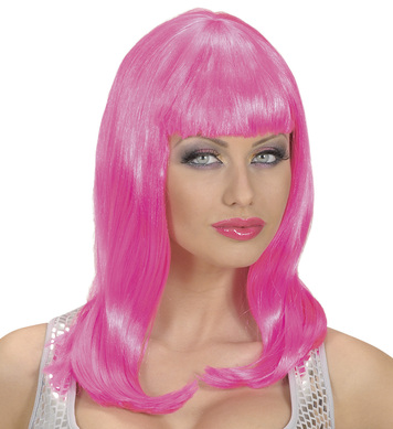 PINK WIG IN POLYBAG