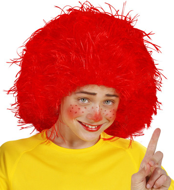 CHARACTER WIG - CHILD SIZE - RED