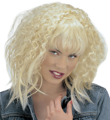 EMMA WIG IN POLYBAG BLONDE  *discontinued