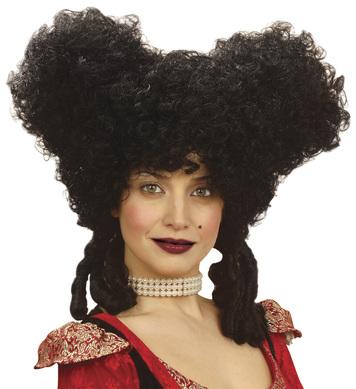BAROQUE NOBLEWOMAN WIG BLACK