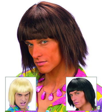 BEACH BOY WIG (blonde/brown/black)