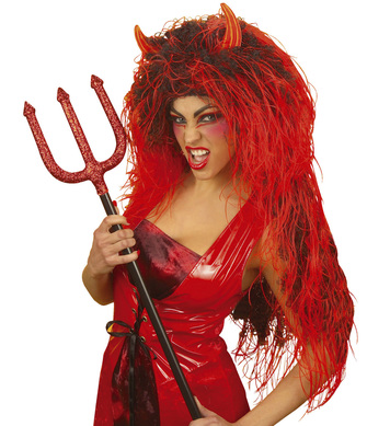 DEVIL WIG EXTRA LONG IN POLYBAG