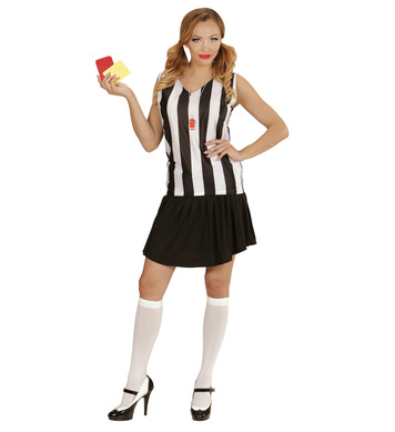 REFEREE GIRL (top skirt whistle)