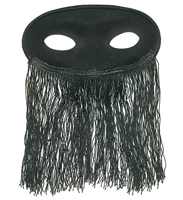 EYEMASK VEILED ODALISQUE BLACK