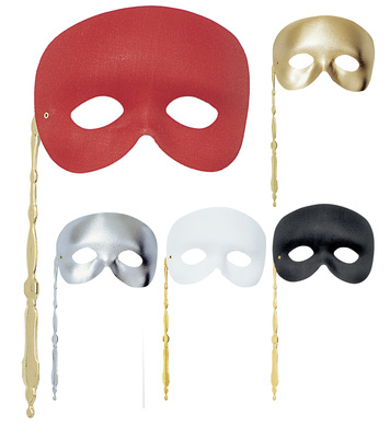 PHANTOM EYEMASK ON STICK (red/black/white/gold/silver)
