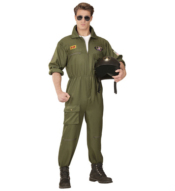FIGHTER JET PILOT MAN