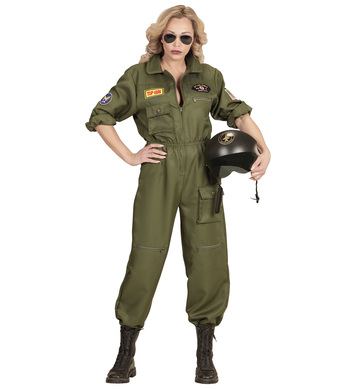 FIGHTER JET PILOT WOMAN
