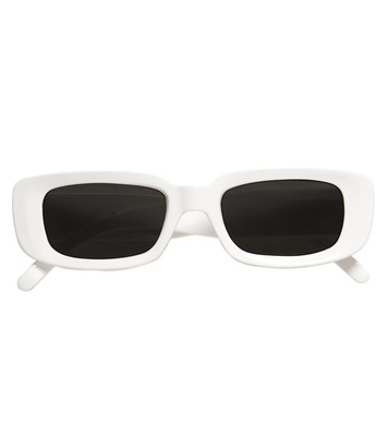 GLASSES WHITE SINGER