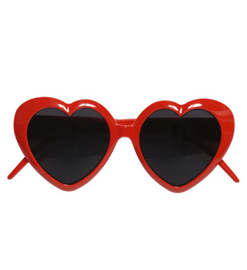 GLASSES LOLITA RED HEART
