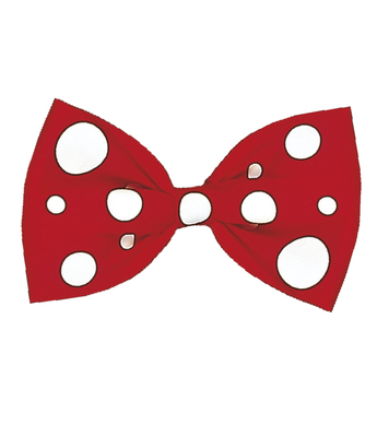 CLOWN MAXI BOW TIE - RED