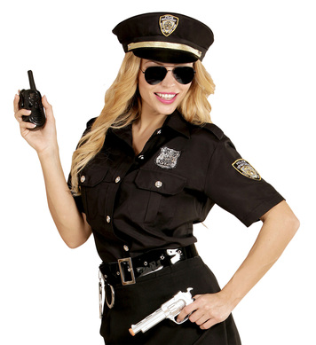 POLICE GIRL SET (shirt hat)