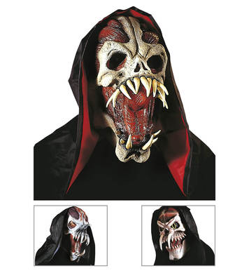 SPACE MONSTER MASK WITH HOOD - 3 styles