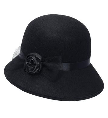 FELT FLAPPER HAT