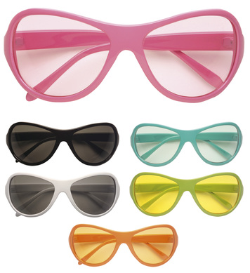 70s UNISEX GLASSES - 6 colours