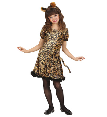 LEOPARD (dress w/tail ears) Childrens