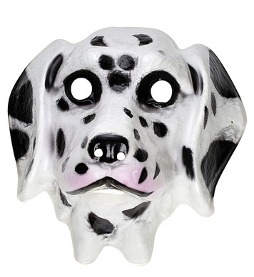 PLASTIC MASK - CHILD SIZE - DALMATION