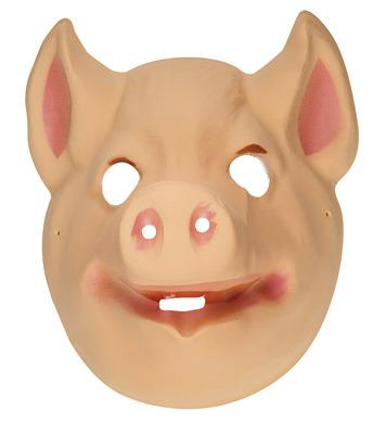 PLASTIC MASK - CHILD SIZE - PIG