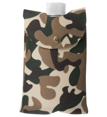 BOTTLE IN CAMOUFLAGE BAG