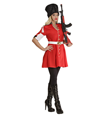 ROYAL GUARD GIRL (dress belt hat)