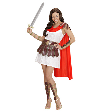 WARRIOR PRINCESS (dress w/cape belt leg & arm pieces)