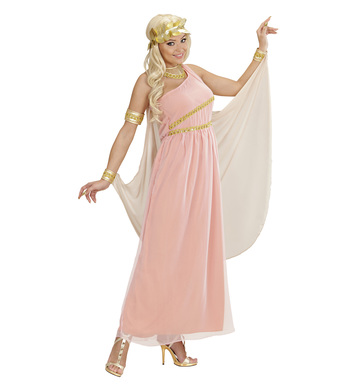 APHRODITE GODDESS OF LOVE (dress w/cape collar wreath)