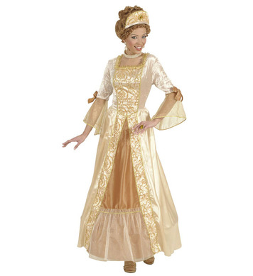 GOLDEN PRINCESS (dress w/hoop headpiece)