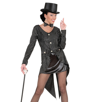 GLITTER TAILCOAT WOMENS