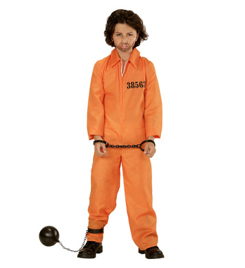 COUNTY JAIL INMATE (boiler suit) Childrens