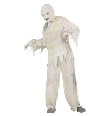 MUMMY COSTUME (coat pants mask) Childrens